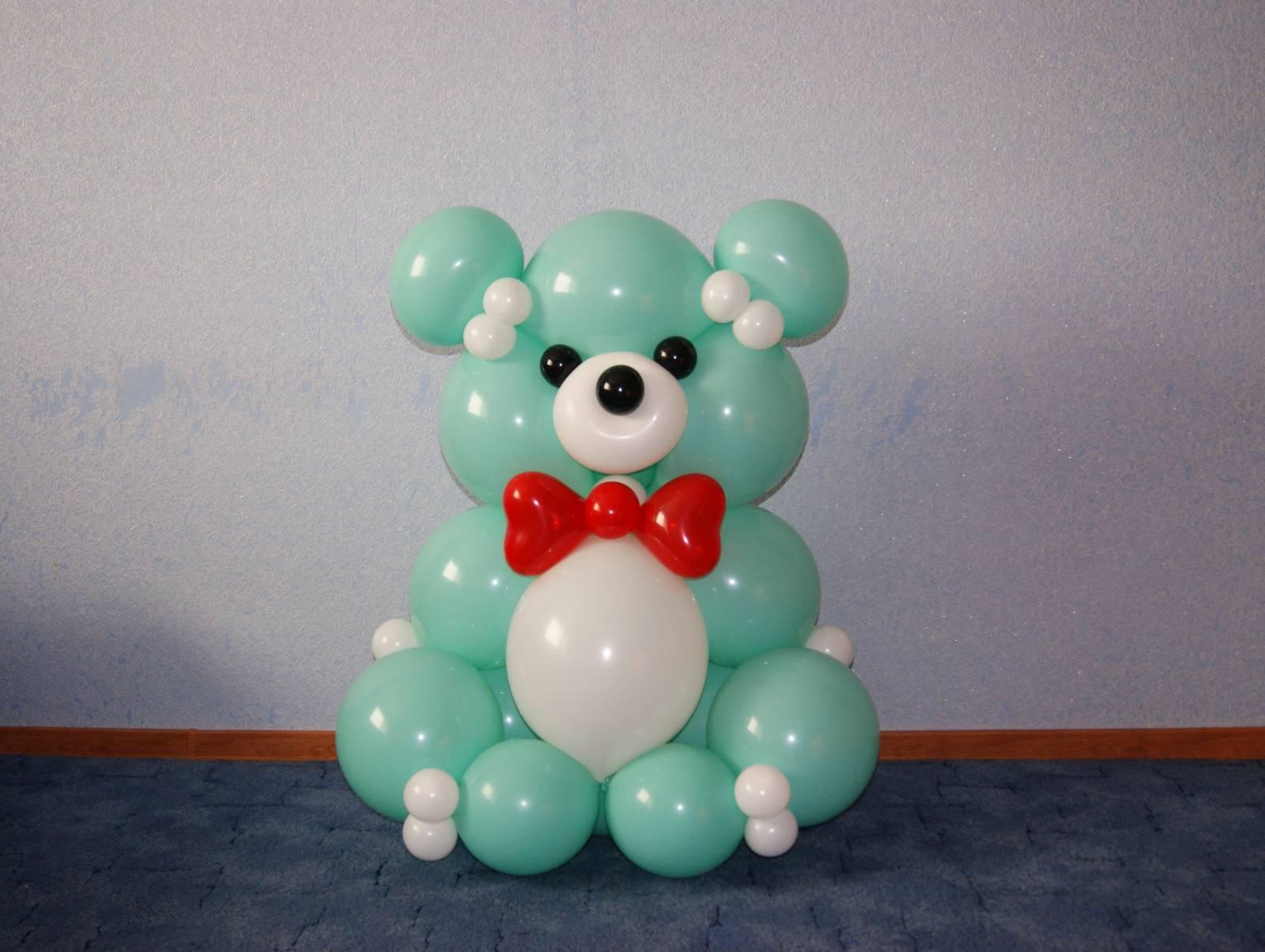 МК Медвежонок из воздушных шаров Страна Мастеров